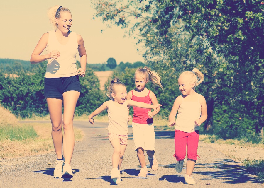 Exercise together and promote healthy living
