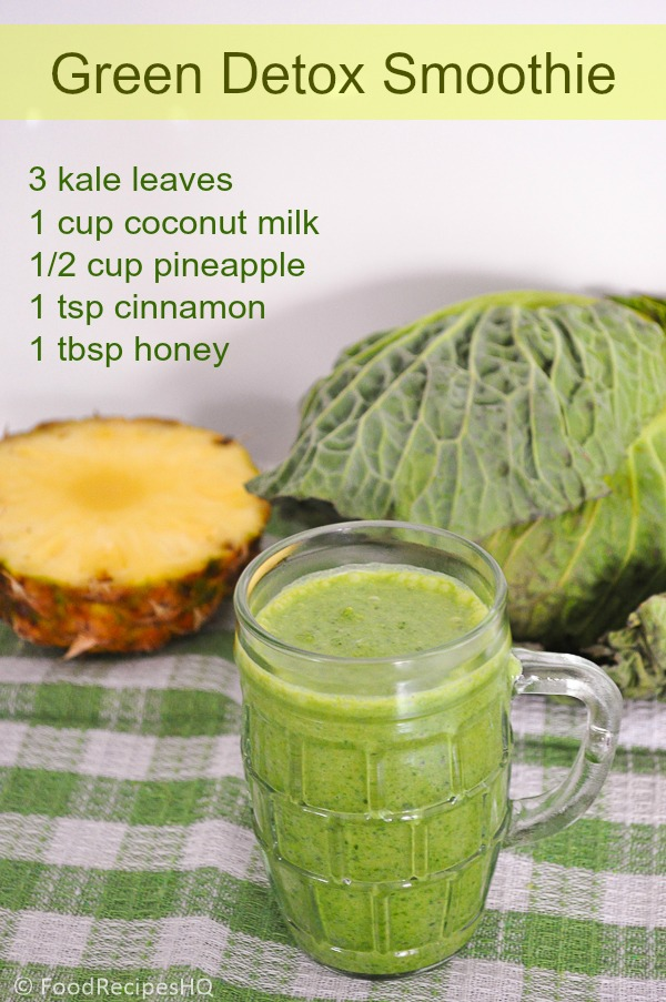 easy to do, works great, its my favorite detox recipe