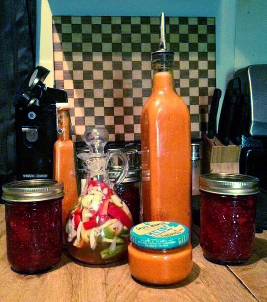 How to make homemade hot sauce. Simply, good, and inexpensive. No need to buy this when it's so easy to make.