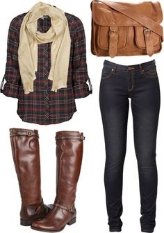Flannels will complete any fall look