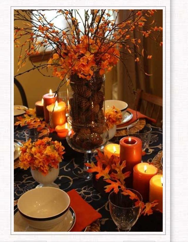 Adorable centerpiece ideas for your thanksgiving table💕