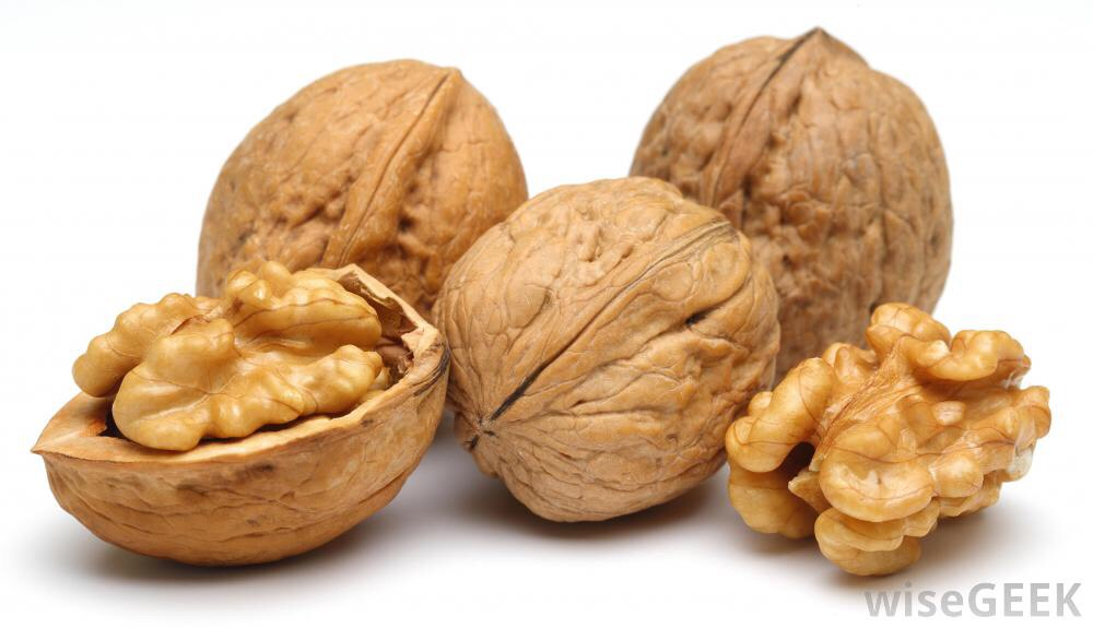 Monday- Sunday: As a snack have either some walnuts, almonds, or a granola (try to eat one snack between meals)