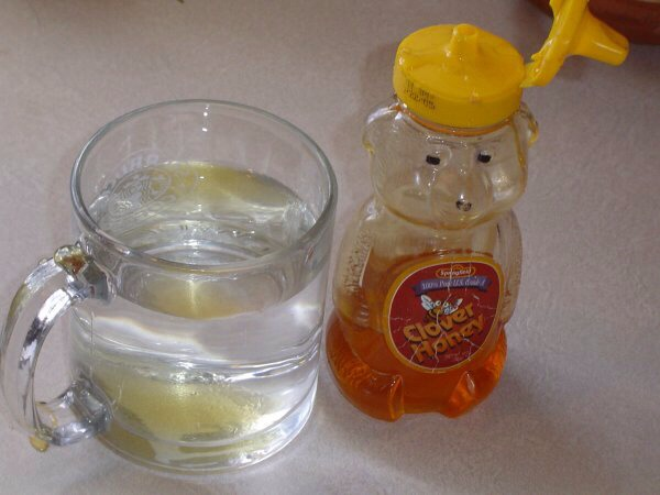 Mixing Honey With Water ➡️➡️➡️➡️➡️➡️