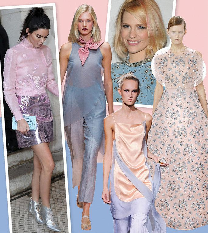 Wondering where to find this perfectly pastel duo? Here is some inspiration from the runway, red carpet, and more.