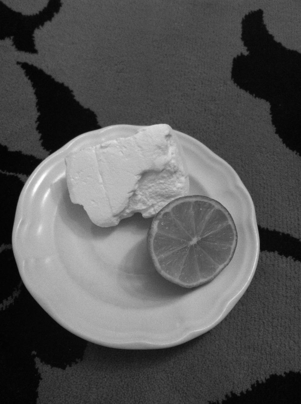 Get rid of bad tans!! You will need: 1. Baking soda 2. Lemon
