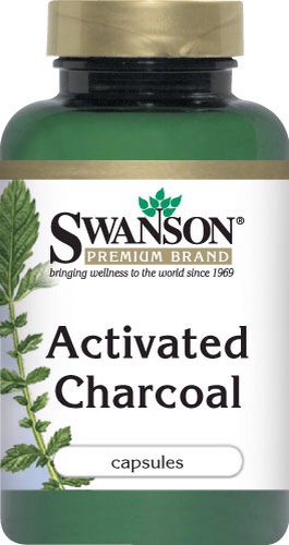 Activated charcoal...yes!! Activated charcoal which has many beneficial uses!