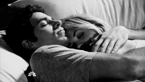 Just holding her, or letting her sleep in your arms can make her feel comfortable. Just being there and being sweet makes anyone feel better.