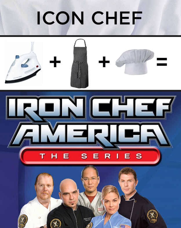 Iron: Amazon Apron: Amazon Chef Hat:Amazon Please tap for full view.