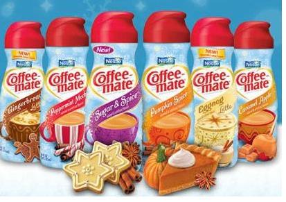 2. Coffee creamers