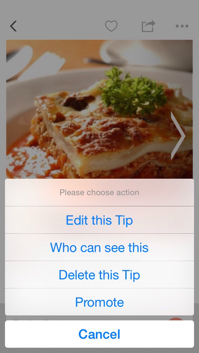 Click on the three dots (...) in the upper left corner then select Who Can See This Tip.  This should resolve the issue and your tip limit will be back to normal.
