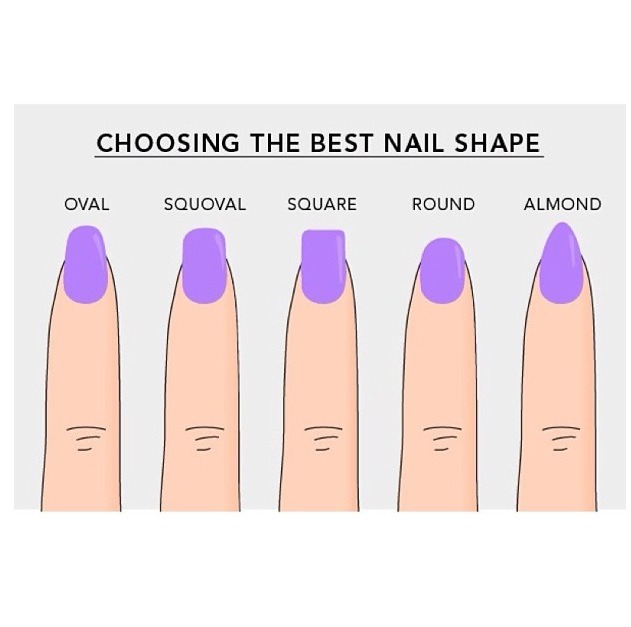 Squoval & round are my fav! What are yours?!