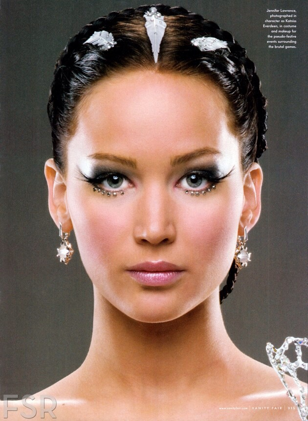 Katniss looking beautiful...