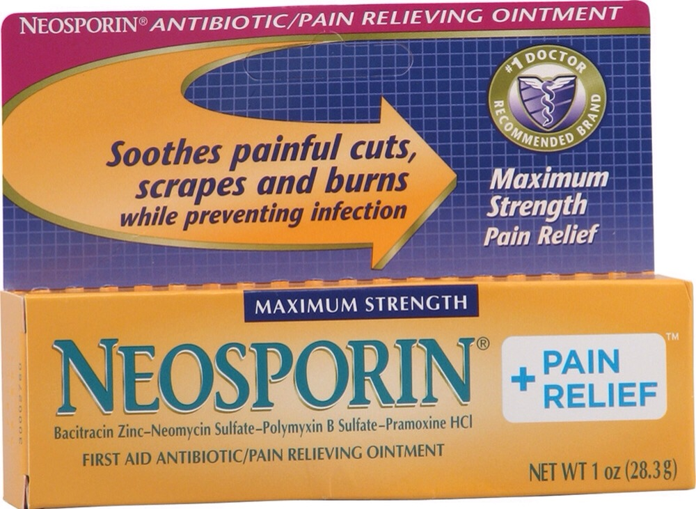 Neosporin heals cuts and burns without pain. The cream will sooth the acne and help it heal faster.