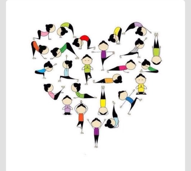 Yoga is great for your body, mind and soul. Make time every day for a few minutes of yoga, it will change your life for the better!