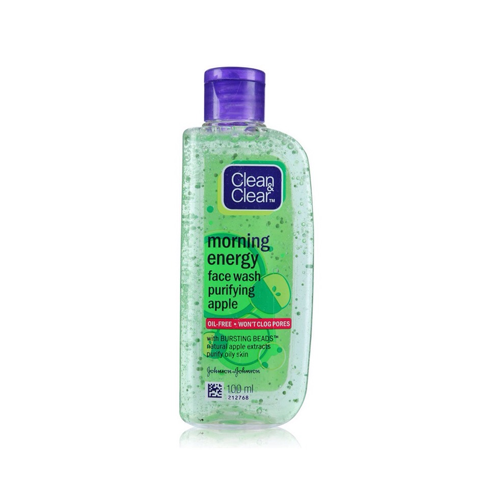 Use a good facial wash. Use  only finger tips