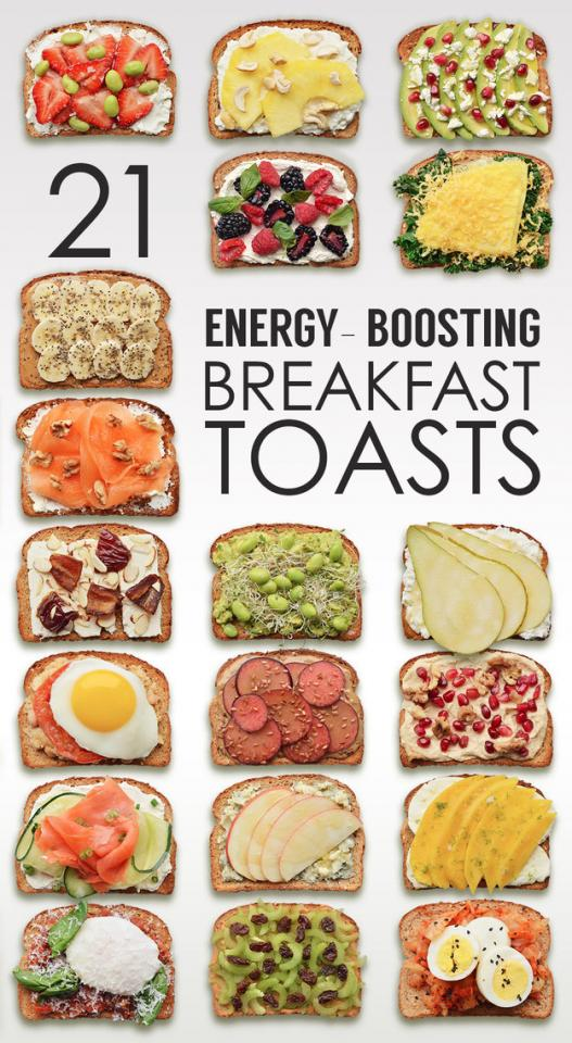 Source: http://www.buzzfeed.com/tashweenali/energy-boosting-breakfast-toasts#.lbAWO1weJ9