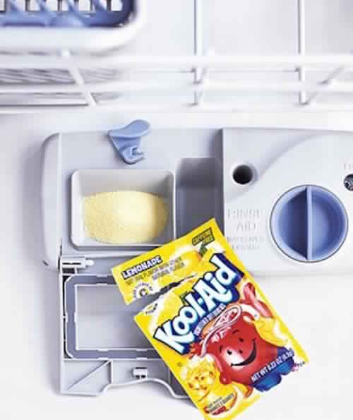 Clean Your dishwasher and leave smelling good