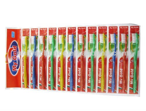 2. Toothbrushes. You can get two toothbrushes for around $8 at your local drug store, or you can buy in bulk and get six for $14. Pretty easy math, right? Having a bunch of brushes handy will also make you more likely to switch them out on time and preserve that beautiful smile. Don't throw the old ones away just yet! Old toothbrushes make great cleaning tools.