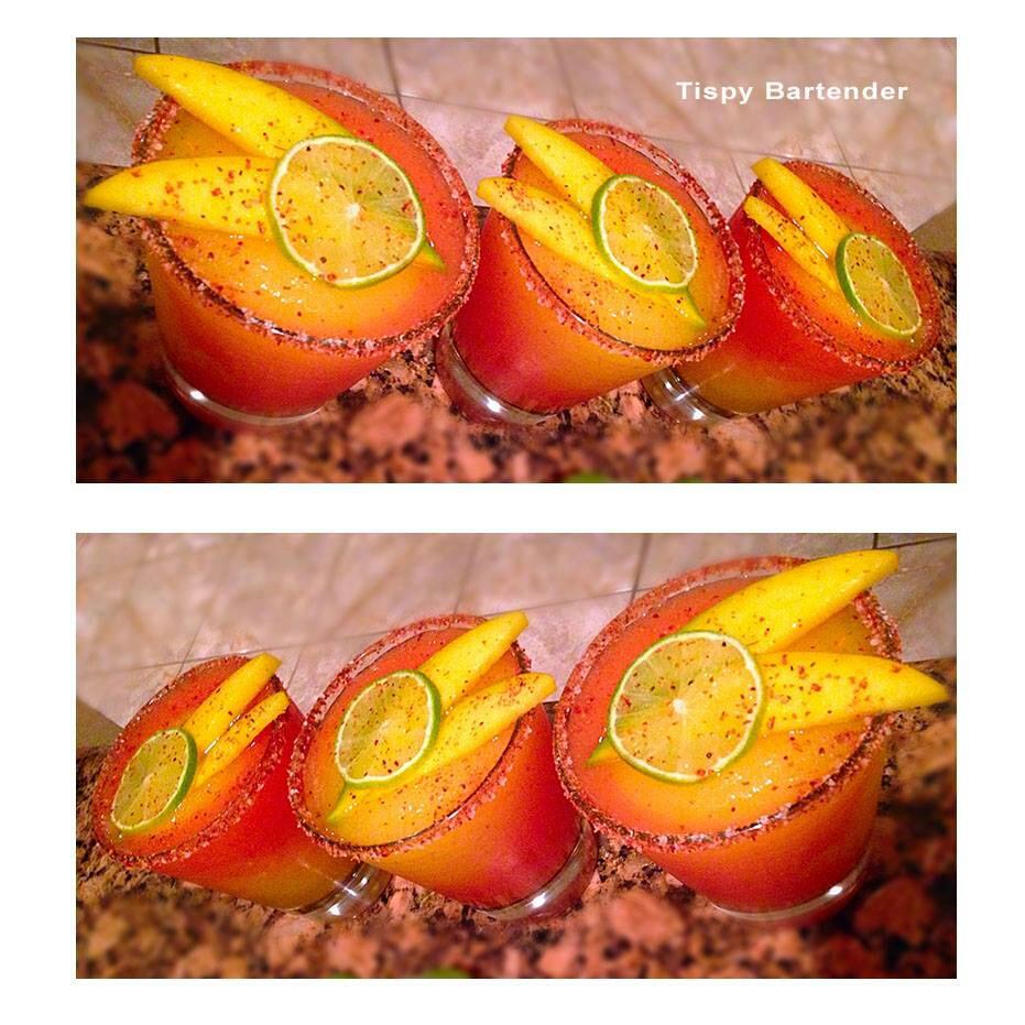 Follow this recipe for a festive Cinco de Mayo drink!