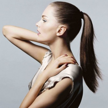 Try to avoid putting you hair in a ponytail, it'll slow down the hair growth.