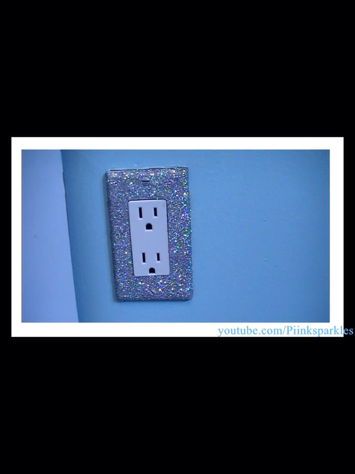 Here is an example of what it would look like. You can also do it to light switch covers