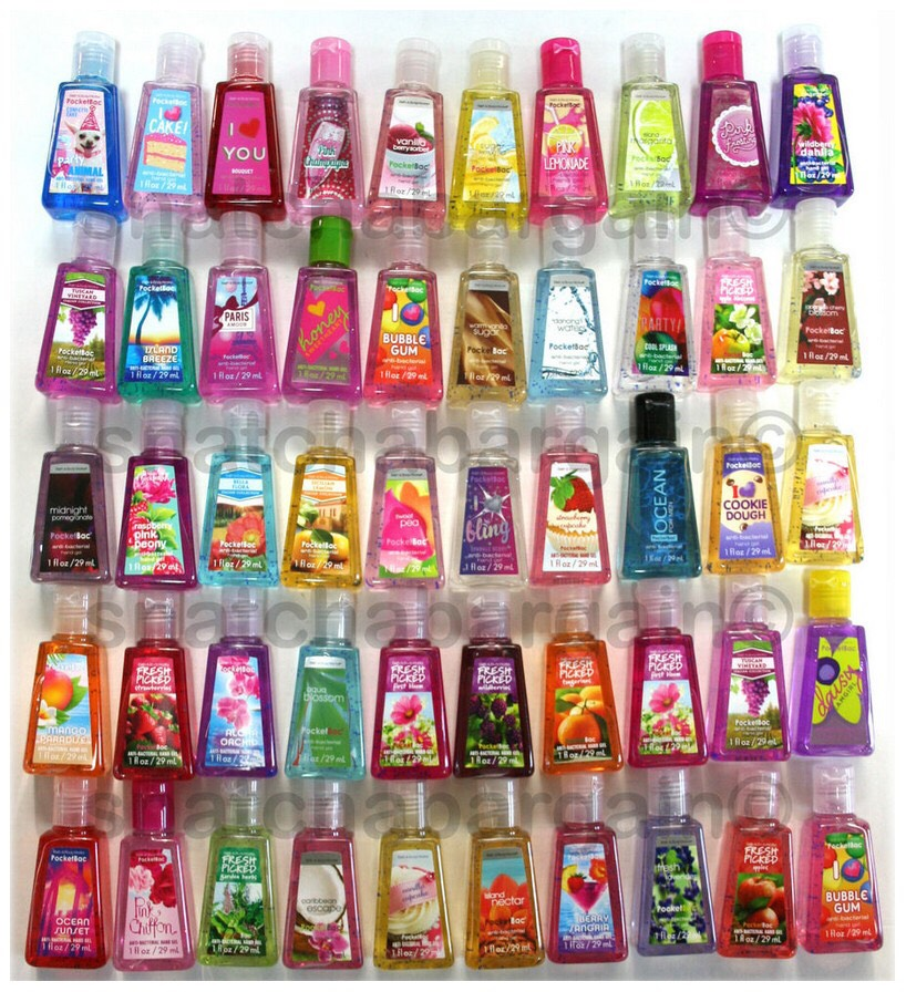 You always should have this. You pick up pencils and sit at dirty lunch tables all day. I recommend Bath and Body works.