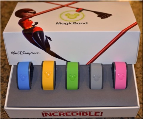 MagicBand: a new ticketing system for Disney World. These wristbands allow guests to use them as:    Hotel Room key    Theme and water park tickets     Food, Beverage, and Merchandise Payment     Fastpass+     Memory Maker and Photopass