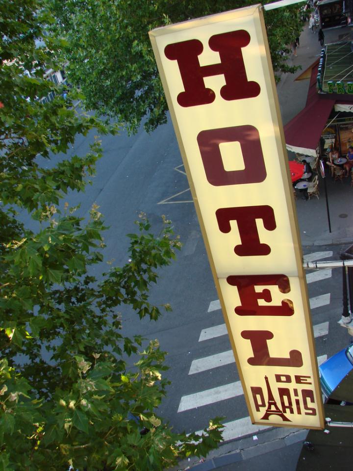 1. Book hotels outside the city center.