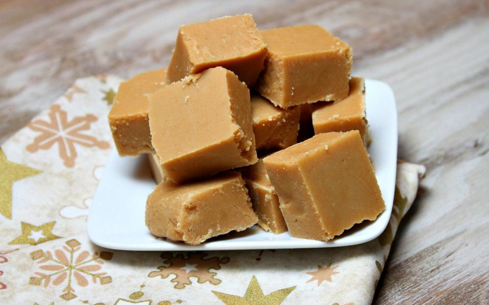 "Pour the mixture into the pan and allow to cool until set. Slice into 1-inch squares.  Cook's Note  *To make this fudge ""dairy-free,"" use coconut milk in place of cow's milk."