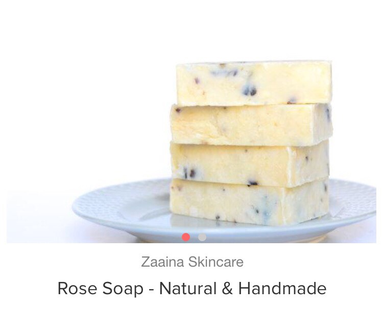 Spring = Spring cleaning! That means keeping yourself clean too!! Treat yourself to this rose soap. It'll improve your skin condition, give you a sweet scent, and provide a more refreshing experience in the process 🌹