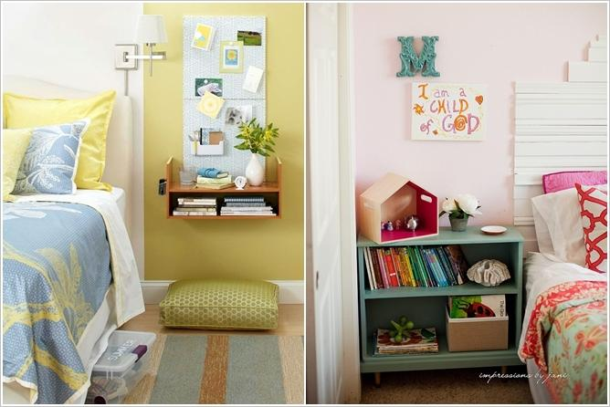 Replace the Nightstand with Shelves