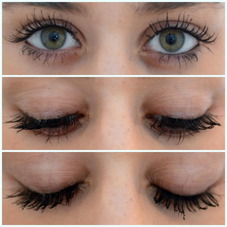 I reccomend to buy Voluminous carbon black mascara you can add layers of mascara and it wont clump up