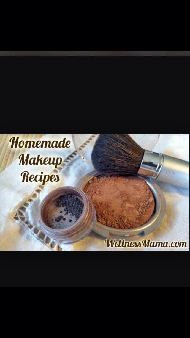 I hope Yall enjoyed these make up recipes! Coming up make up remover..💭