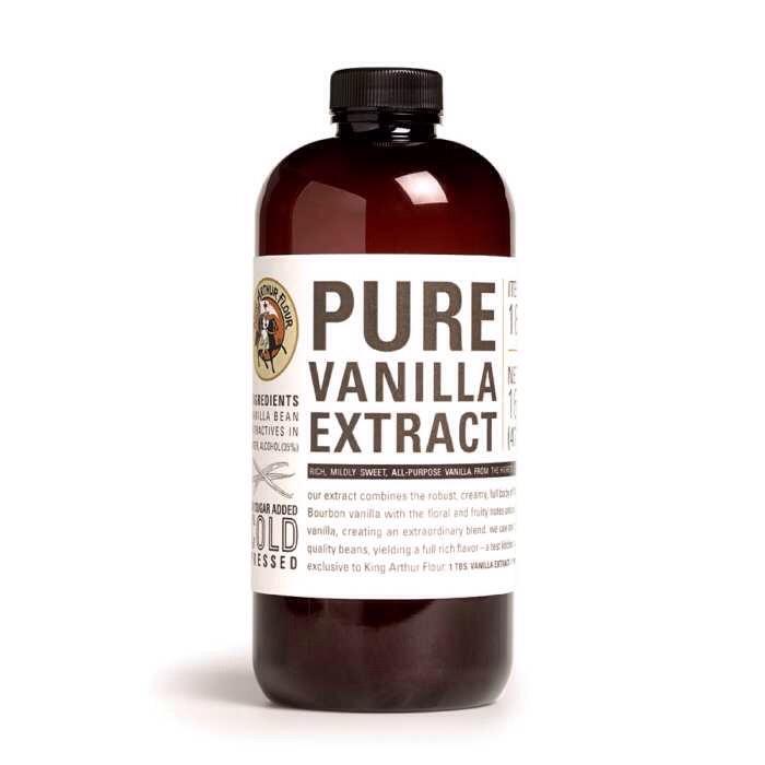 1/2 teaspoon of vanilla extract