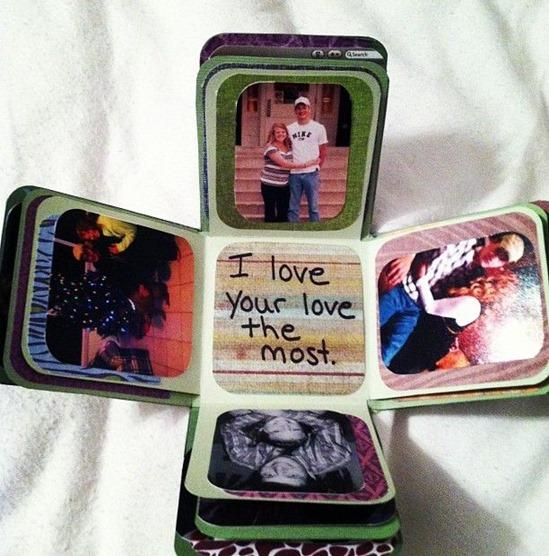 pop out handmade box