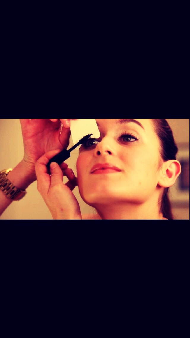 Curl your eye lashes to make a longer and thicker look.