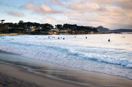 Carmel beach aka home as well