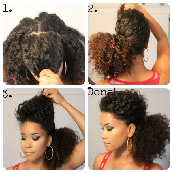 24. If you've got thick hair, just separate the bangs out to get more height at the crown.