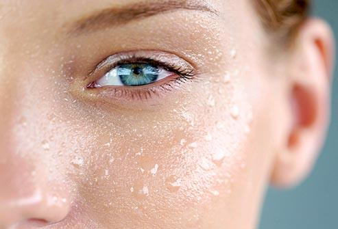 Moisturize when your skin is damp. Moisturizing when your skin is still slightly wet helps to seal in more hydration