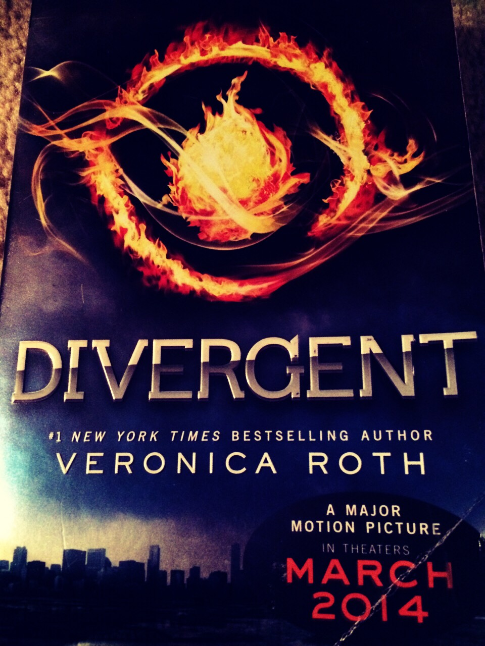 Divergent by Veronica Roth;series of 3