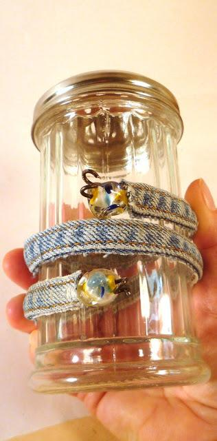 To shape your bracelet, wrap the whole thing around a jar...  These are infinitely adjustable, and will fit anyone.  Change up the number of beads, the style and color.