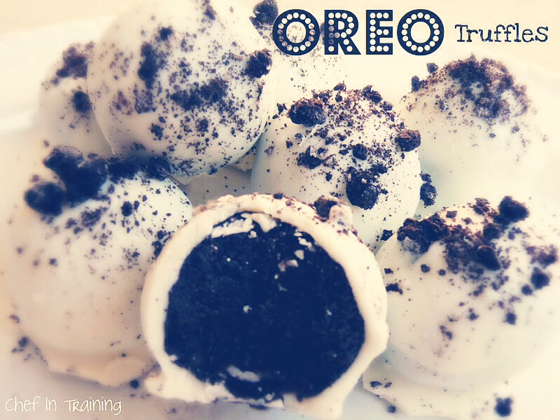 What you need: •one pack of Oreos •cream cheese •large ziploc bag  ~slide for instructions~