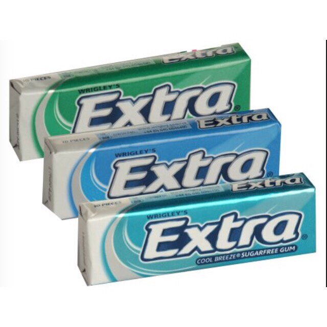 Gum/mints:  These come in handy for it you have a dry mouth or if you have just eaten & you need to freshen up.