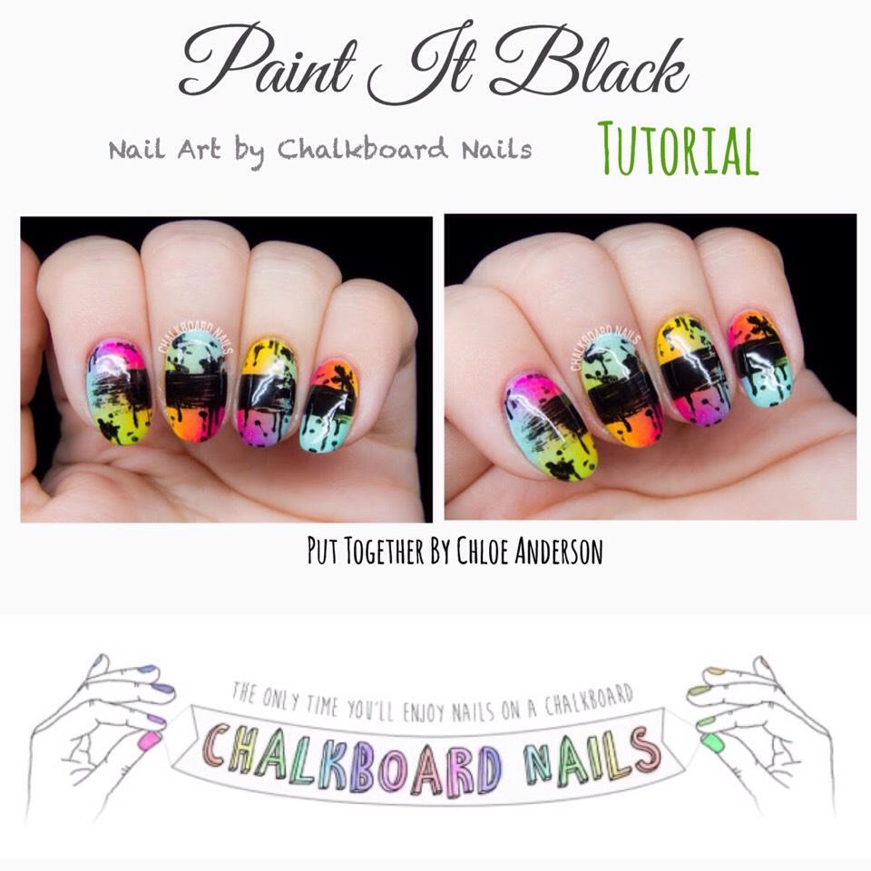 Tutorial found HERE |http://www.chalkboardnails.com/2015/09/paint-it-black.html?m=1