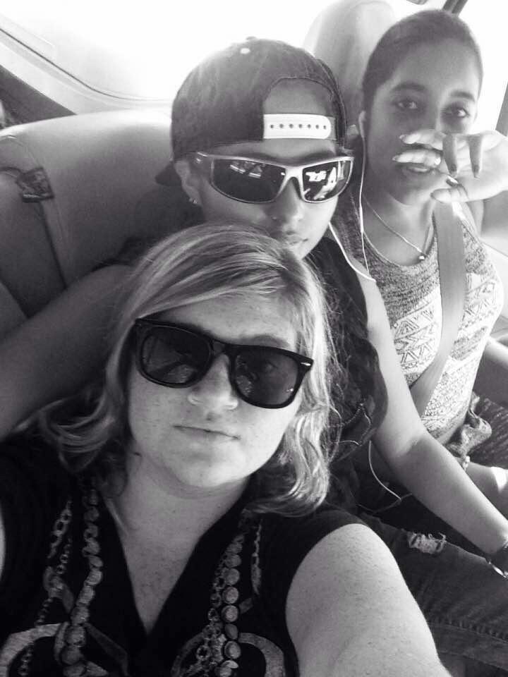 Me, sis, and ash