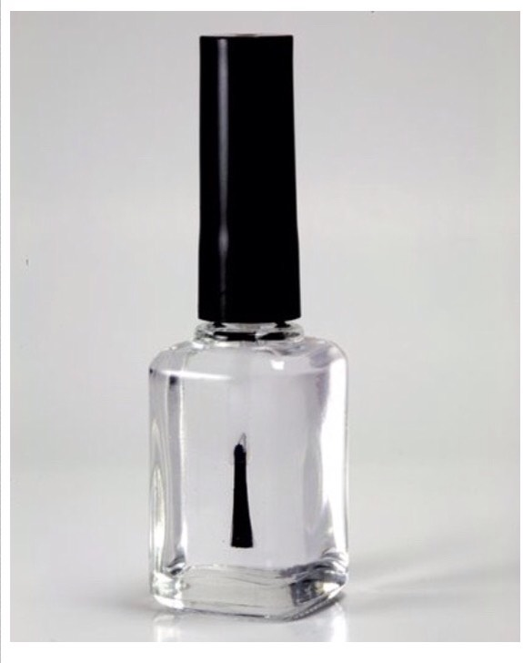 Well Your Going to need Clear Nail Polish And...