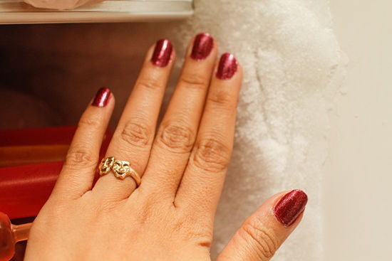 How do you make nails dry fast?