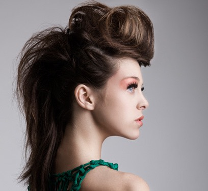 7. Style your hair.
