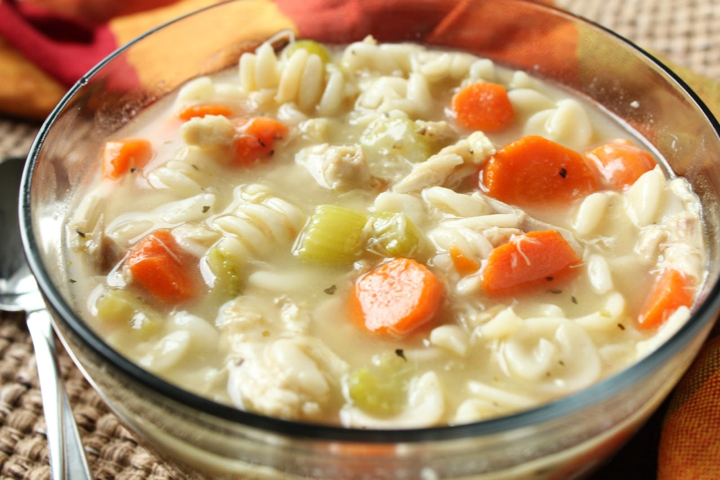 An enzyme produced in the chicken broth helps with immune defense.