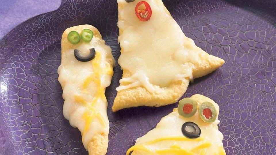 These ghosts are so cute and tasty, they'll be the first at the party or dinner table to disappear!